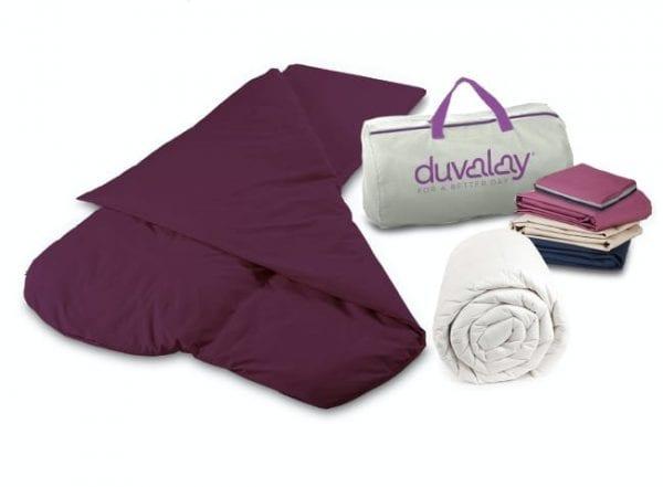 duvalay luxury sleeping bag bundle 650x478 1