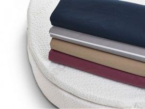 Custom custom shaped zipped sheets bedding caravan motorhome mattress