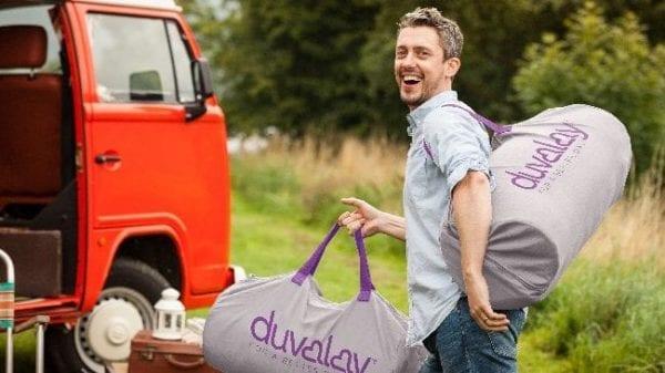 Highland auto campers duvalay camping grey bag e1611234885876
