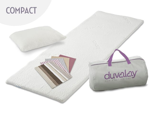Compact Travel Topper Bundle Duvalay