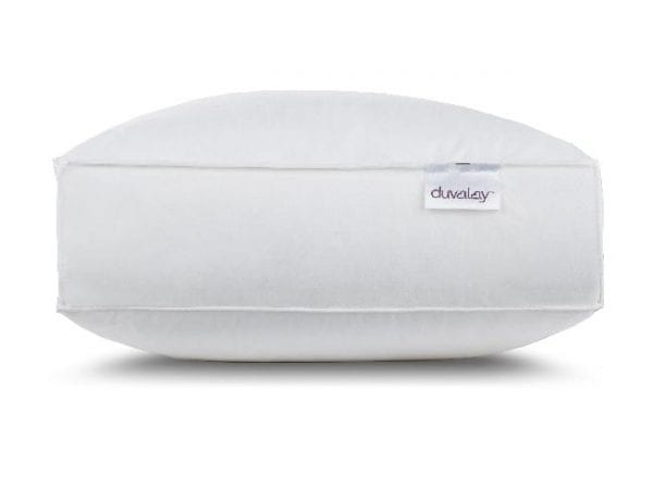 Duvalay hotel pillow side view