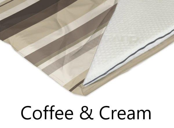 Coffee and cream stripe